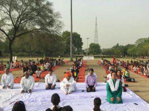 Autumn Foundation by celebrated Yoga Day