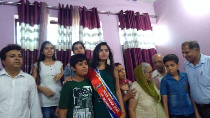 Ritu Lakhina of Faridabad will represent Haryana in Miss India Elite