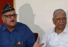 Former army officers who came in support of Colonel Virendra
