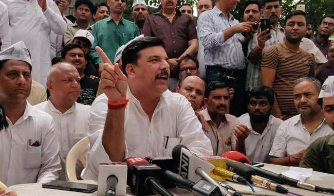 The flood affected village of Kerala will adopt you MP from Sanjay Singh