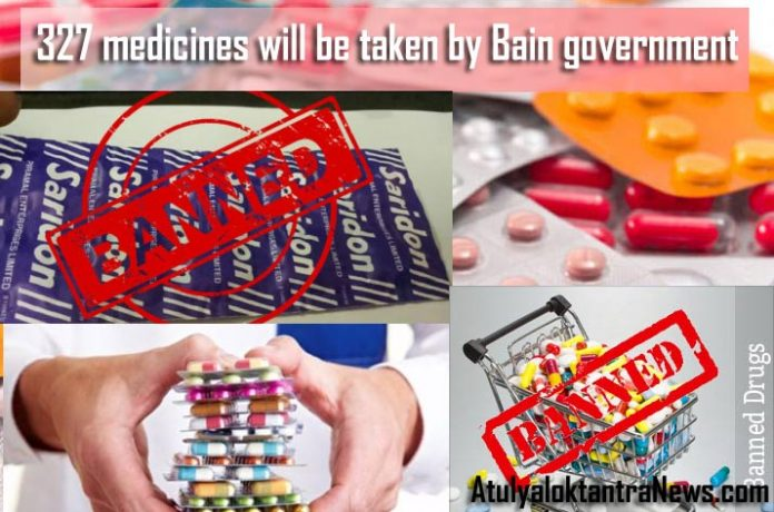 Drugs Due to Health Risk to Patients Govt Bans 327