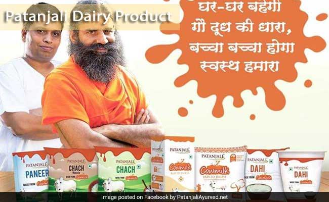 Patanjali Dairy Product