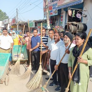 BJP's Cleanliness campaign on Gandhi Jayanti