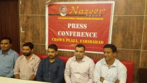 """43 years old """"Nazir Foods"""" now available in Faridabad"""