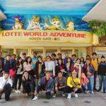 विजेता छात्रों ने किया दक्षिण कोरिया का दौरा
