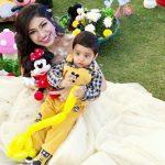 Tulsi Kumar celebrated her son Shivaay's first birthday