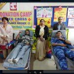 सराय स्कूल में 12वें रक्तदान शिविर का आयोजन