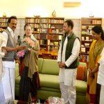 विपक्ष की बैठक से पहले सोनिया गांधी, राहुल से मिले स्टालिन