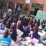 छात्राओं के लिए लाइफ स्किल डेवलपमेंट शिविर  का आयोजन