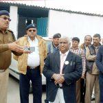 कर्मचारियों और अधिकारियों ने मनाया सड़क सुरक्षा सप्ताह