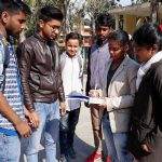 हिंदी दिवस पर चला 'हिंदी हस्ताक्षर मुहिम'