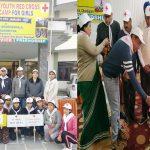 यूथ रेडक्रॉस कैंप में 10 छात्राओं ने निभाई भागीदारी
