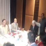 मुख्य चुनाव आयुक्त की डीजीपी एवं सीएस के संग बैठक