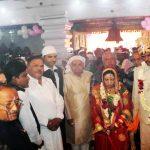 सातवां सामूहिक विवाह सम्मलेन वैष्णोदेवी मंदिर में संपन्न