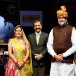 Malini Awasthi's enchanting voice enthralls the audience at Crafts Mela