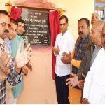 गांव नचौली में लाखों की लागत से विकास कार्यो का शुभारंभ