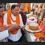 कैबिनेट मंत्री विपुल गोयल ने लोगो को दी हनुमान जयंती की बधाई