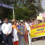 तकनीकी शिक्षा को लेकर छात्रों ने निकाली जागरूकता रैली