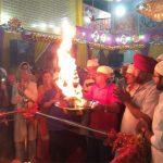 वैष्णो देवी मंदिर में मां महागौरी की भव्य पूजा अर्चना