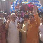 मारवाड़ी समाज ने बड़े ही हर्षोल्लास से मनाया गणगौर उत्सव