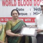 रक्तदान करने से जरूरतमंद व्यक्ति को दिया जा सकता है जीवनदान
