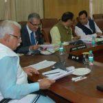 हरियाणा मंत्रिमंडल की बैठक में पांच जातियों को विशेष सूची में शामिल करने का निर्णय