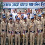 सराय ख्वाजा स्कूल में स्टूडेंट पुलिस कोर का गठन