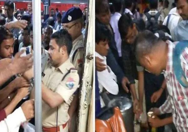 2000 यात्रियों के साथ कई घंटों से फंसी है महालक्ष्मी एक्सप्रेस
