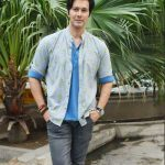 Rajneesh Duggal And Actress Pooja Bisht Witnessed Promoting their upcoming movie Mushkil in Delhi