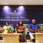 Govt of india organised a handloom symposium @crafts museum pragati maidan