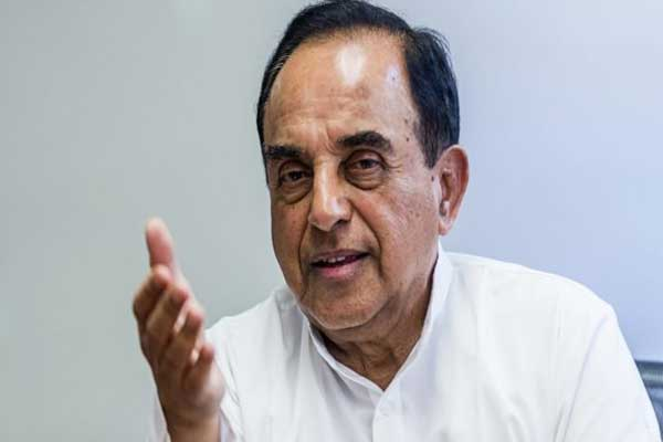 बीजेपी नेता सुब्रमण्यम स्वामी ने नई आर्थिक नीति पर उठाए सवाल