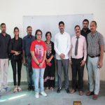 पंडित N.R. कॉलेज में साइबर क्राइम पर अवेयरनेस वर्कशॉप का आयोजन