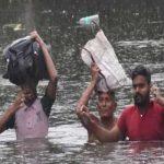 उत्तर प्रदेश में भारी बारिश-बाढ़ के कारण 107 लोगों की मौत