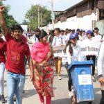 गांधी की 150वीं जयंती पर चलाया जागरूकता अभियान