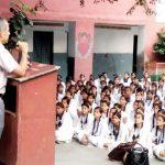सराय स्कूल में मनाया अंतरराष्ट्रीय वृद्धजन दिवस
