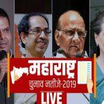महाराष्ट्र में BJP-शिवसेना गठबंधन बहुमत के करीब, कांग्रेस-NCP को 140 सीटों पर बढ़त