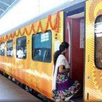 देश की पहली प्राइवेट ट्रेन तेजस शुरू, लखनऊ में CM योगी ने दिखाई हरी झंडी