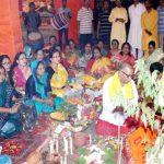 हरियाणा काली मंदिर में दुर्गा पूजा उत्सव शुरू