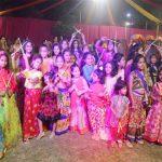 गीता मंदिर पार्क में हुआ भव्य डांडिया उत्सव का आयोजन