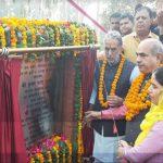 कृष्ण पाल गुर्जर ने किया गुरूग्राम कैनाल पर बनाए गए पूल का उद्धाटन