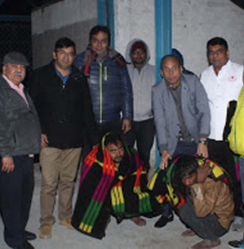 Donate Blankets for poor & Homeless people