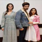 'पति, पत्नी और वो' के कलाकारों ने दिल्ली में किया फिल्म का प्रचार