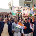 रैली में शामिल होने के लिए हजारों कार्यकर्ताओं से साथ दिल्ली रवाना हुए कांग्रेसी नेता