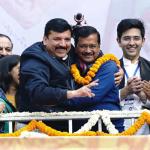 दिल्ली में एक बार फिर बनी प्रचंड बहुमत से आम आदमी पार्टी की सरकार