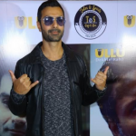 "Ashmit Patel and Iqbal khan spotted in Delhi for web series ""The Bull of Dalal street ""promotion"