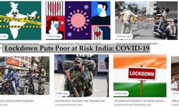 Lockdown Puts Poor at Risk India: COVID-19