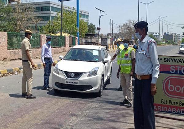 लॉकडाउन : पुलिस ने रूल्स तोड़ने पर 17 लोगों को किया गिरफ्तार