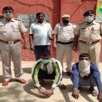 जाति सामुदाय के प्रति अभ्रद भाषा का विडियो वायरल करने पर दो गिरफ्तार