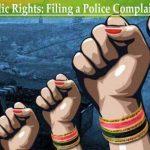 सार्वजनिक अधिकारों को जानें: पुलिस शिकायत दर्ज करना