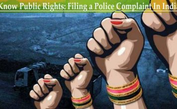 Filing a Police Complaint In India